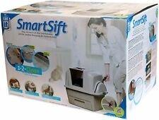 Catit Design SmartSift Hooded Cat Litter Tray Toilet Touch Free Scoop System