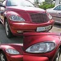 Chrom Kühlergrill Grill 2 TEILIG Chrysler PT Cruiser 2001-2006 vor Facelift