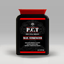 PCT POST CYCLE THERAPY - PRO ANABOLIC GROWTH TESTOSTERONE BOOSTER & TEST SUPPORT