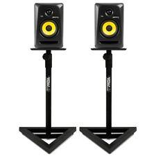 Gorilla Stands Adjustable Home Studio DJ Studio Monitor Speaker Stand (Pair)