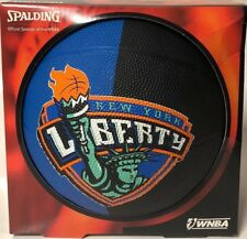 Spalding Wnba New York Liberty Brand New Basketball Outdoor Ball Size 28.5