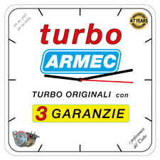 OROLOGIO TUBO ARMEC CON TURBINA AUTO