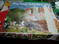 King Arthur's Castle playset Big Spielwarenfabrik West Germany jean Hoefler