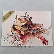 DINOTOPIA #38 Meat Eaters Trading Card James Gurney Collect-A-Card NM/M