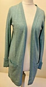 BNNT! FAT FACE: Sz 6; Open Cardi Wraparound Coverall, wool/cashmere blend