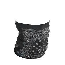 Zanheadgear TF101 Motley Tube Fleece Lined Black Paisley