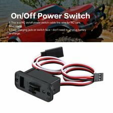 On/Off Power Switch Wire W/ LED indicator Charge Port for RC Car Accessories