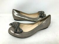 NEW! Jessica Simpson Women's Mizella Slip On Flat Shoes Metallic/Sparkle Size:8.