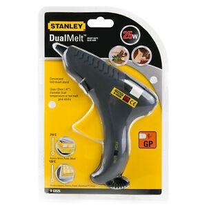 Stanley 0-GR25 230V Heavy-Duty 25/80W Dual Melt Hot Glue Gun Mains Powered Craft