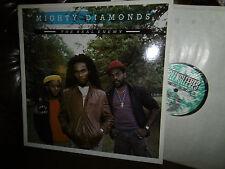 "Mighty Diamonds, The Real Enemy, REGGAE, UK England Greensleeves LP, 12"" 1987"