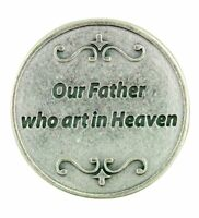 Devotional Pocket Token with The Lord's Our Father Prayer of Christianity
