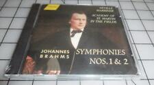 Johannes BRAHMS Symphonies Nos. 1&2 (CD, Music, Classical, 2-Disc Set, Hanssler)