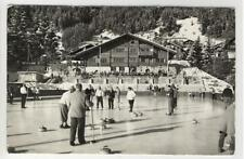 AK Adelboden, Kunsteisbahn, 1964 Foto-AK