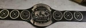 NWA Louisiana State Wrestling Championship Belt 2MM Brass Metal Plates