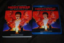 Nightbreed - OOP Scream Factory - Slip Cover - David Dead Ringers Cronenberg