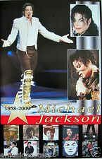 """Michael Jackson """"1958 - 2009 In Concert & Album Covers"""" Poster From Mexico"""