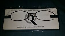 ROCHESTER OPTICAL SIDESTREET BROWN SPECTACLE EYEGLASS FRAME 50-19-145 OPTOMETRY