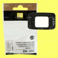 Nikon DK-20C +2.0 Correction Eyepiece Lens Diopter for D7200 D5000 D3300 D600