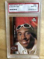 1996-97 Upper Deck Kobe Bryant #58 Rookie PSA 9 MINT RC 🔥🔥