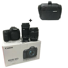 Canon EOS 90D camera with 18-55mm + 55-250mm Lens + Bag UK NEXT DAY DEL