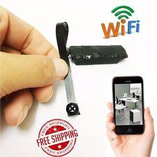 Wireless Spy Nanny CAM WIFI IP Pinhole DIY Digital Video Camera Tiny Micro DVR