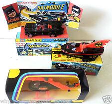 CORGI Junior Batman BATMOBILE BATBOAT BATCOPTER on Mini Repro 107 267 925 Boxes