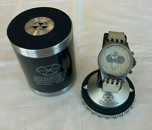 Quantum 200M Reactor Chronograph Stainless Steel Men's Sport Watch