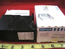 Siemens 7PU3040-3FJ20 Timing Relay Counter 7PU30 Timer 3-Digit 250vac Counter