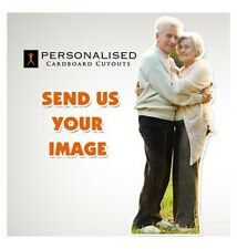 Personalised Double Cardboard Cutout - Your Photo made into a Lifesize Cutout
