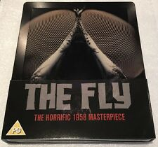The Fly Steelbook - Limited Edition Blu-Ray **Region Free**