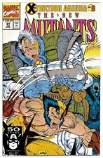 NEW MUTANTS #97(1/91)X-MEN/X-FACTOR/WOLVERINE(X-TINCTION AGENDA)CGC IT(9.6)HOT!!