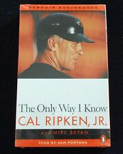1997 Baltimore Orioles Cal Ripken Jr. The Only Way I Know Audiobook Sealed MT NR