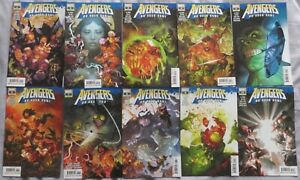 Avengers No Road Home Full Set #1-10 Conan, Vision, Scarlet Witch, Immortal Hulk