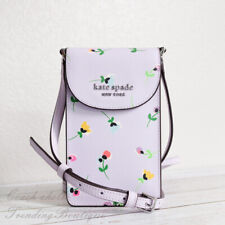 NWT Kate Spade Cameron Wildflower Ditsy North South Flap Phone Crossbody