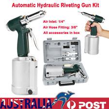 New Industrial Air Hydraulic Pop Rivet Gun Pneumatic Riveter Hand Tool BEST AU
