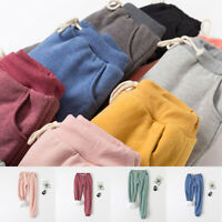 Winter Fleece Lined Sport Casual Jogger Pants Athletic Sweatpants Trousers