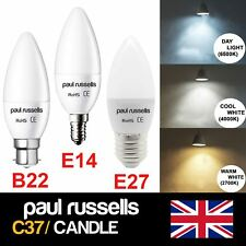E14/E27/B22 3W/5W/7W SMD LED Candle Chandelier Light Bulb Warm/Day/Cool White