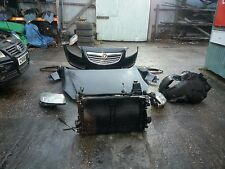 2010 VAUXHALL INSIGNIA COMPLETE FRONT END PARTS. COLOUR CODE Z20R BLACK.