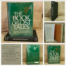 1st/2nd, History of Middle Earth, The Book of Lost Tales Pt.1 by J.R.R. TOLKIEN