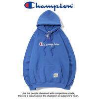 Women's Men's Classic Champion Hoodies Embroidered Hooded Sweatshirts Outwear