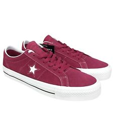 Converse CONS One Star Pro Ox Low Top Skate Shoe Rhubarb / Black / White 163253C