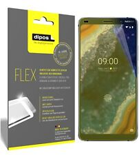 3x Nokia 9 PureView Screen Protector Protective Film covers 100% dipos Flex