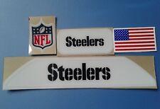 Pittsburgh Steelers VSR4  bumpers helmet decal set