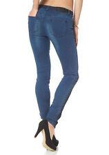 ARIZONA Jeans 20 Blau Stretch Jeggings Denim Röhren Blue Used Hose 40 L30 NEU