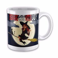 Beware Crazy Witch Lady Funny Novelty Gift Mug