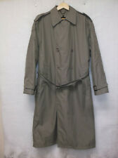 Travelsmith Men's Trench Coat Size L-Regular Removable Lining Thermolite Ins