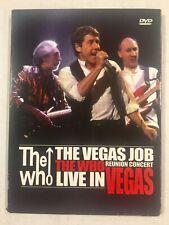 The Who - The Vegas Job (DVD, 2006)