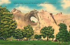 Linen Postcard; Window Rock Az Capital of Navajo Nation, near Gallup Nm Unposted