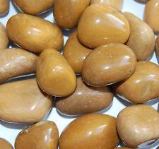 Trommelsteine poliert, gelber Jaspis, Größe 2-3 cm,  1 kg