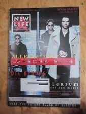 New Life Depeche Mode Fan Magazin 1997 paradise lost die krupps warp wgt ebm